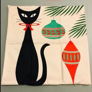 Other - Sold!! Christmas cat pillowcase